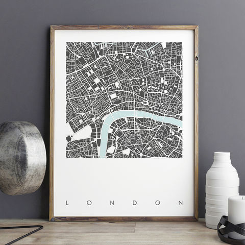 London,Map,Art,Print,-,LIMITED,EDITION,PRINTS,London map art prints, city maps, city prints, limited edition prints