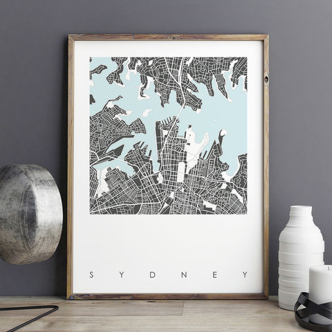 Sydney,Map,Art,Prints,-,LIMITED,EDITION,PRINTS,sydney map art prints, city maps, city prints, limited edition prints