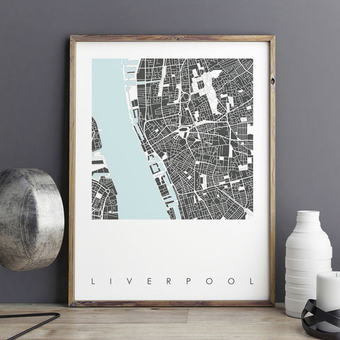 Liverpool,Map,Art,Print,-,LIMITED,EDITION,PRINTS,liverpool map art prints, liverpool map prints, city prints, limited edition prints