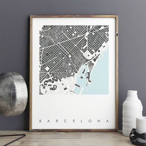 Barcelona,Map,Art,Prints,LIMITED,EDITION,PRINTS,barcelona map art prints, barcelona prints, city prints, limited edition prints