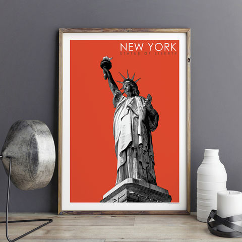 New,York,Print,-,Statue,of,Liberty,Art,Travel,Poster,new york print, statue of liberty art print,  travel poster, city prints