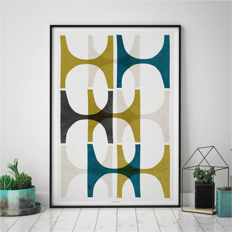 Wall Art Set U2013 Set Of 3 Prints U2013 Abstract Art Print U2013 Living Room Prints