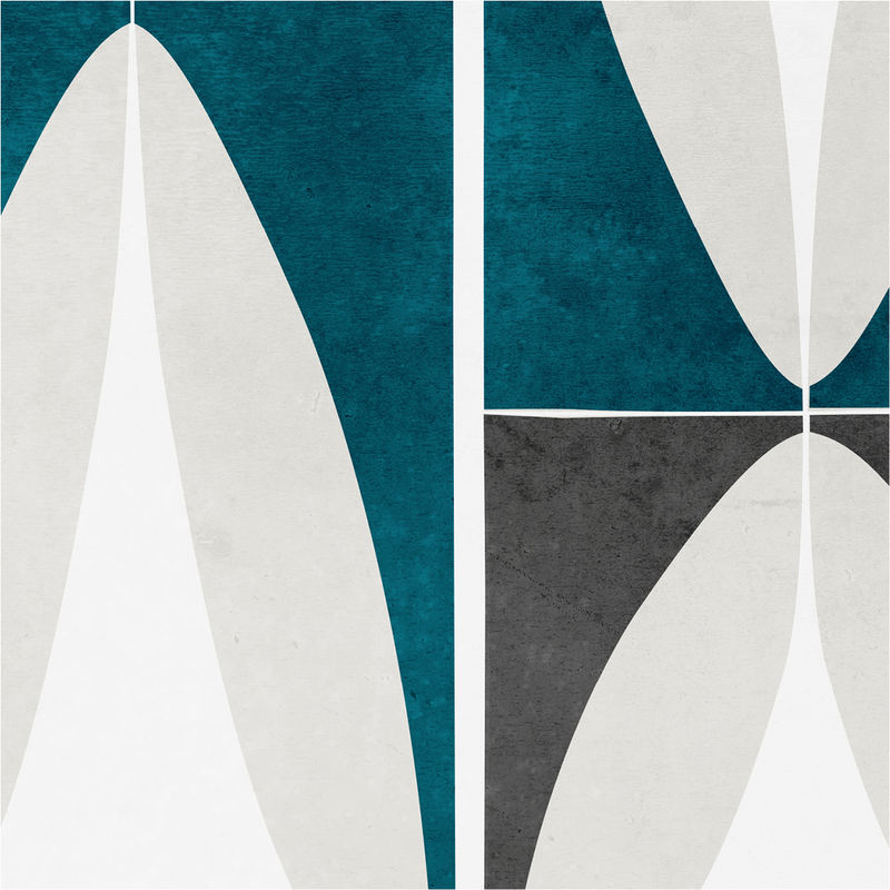 set of three art prints abstract geometric wall art prints