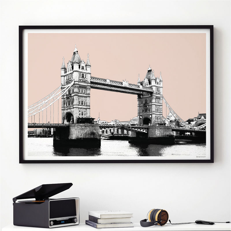 London Skyline Wall Art Print   London Art Print   City Prints   Product  Images Of