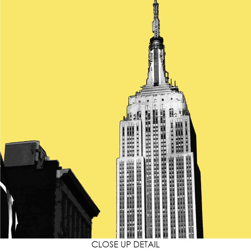 New York Wall Art Print - City Prints - New York Gift - Empire State ...