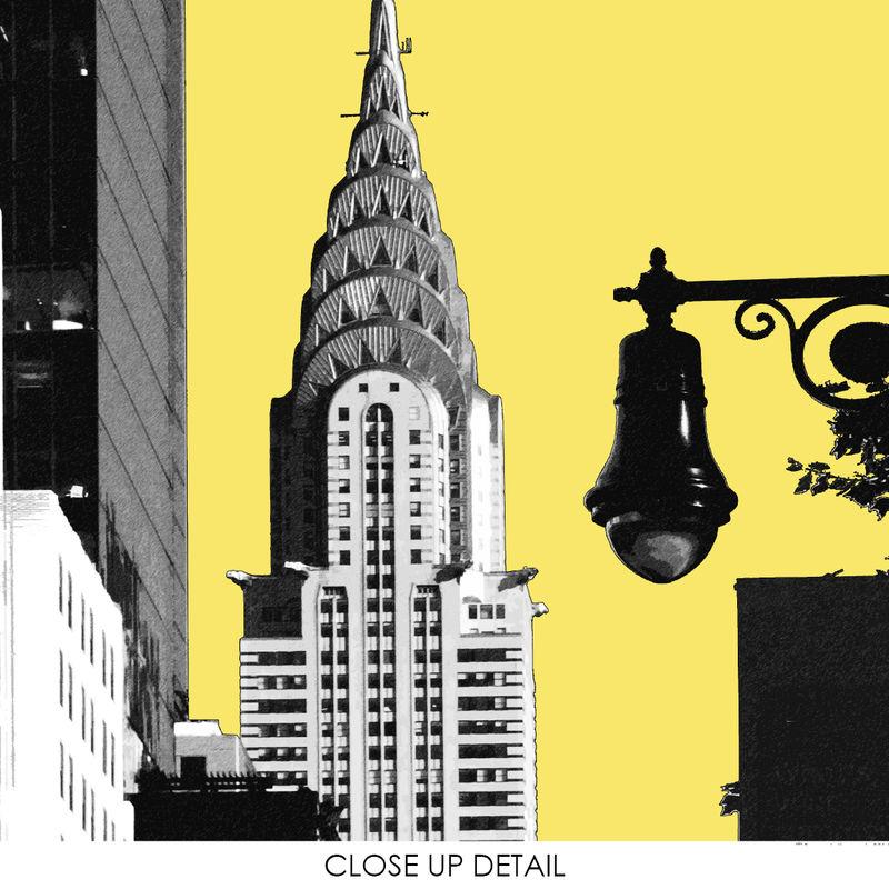 New York Wall Art Print - Travel Print - Chrysler Building - City ...