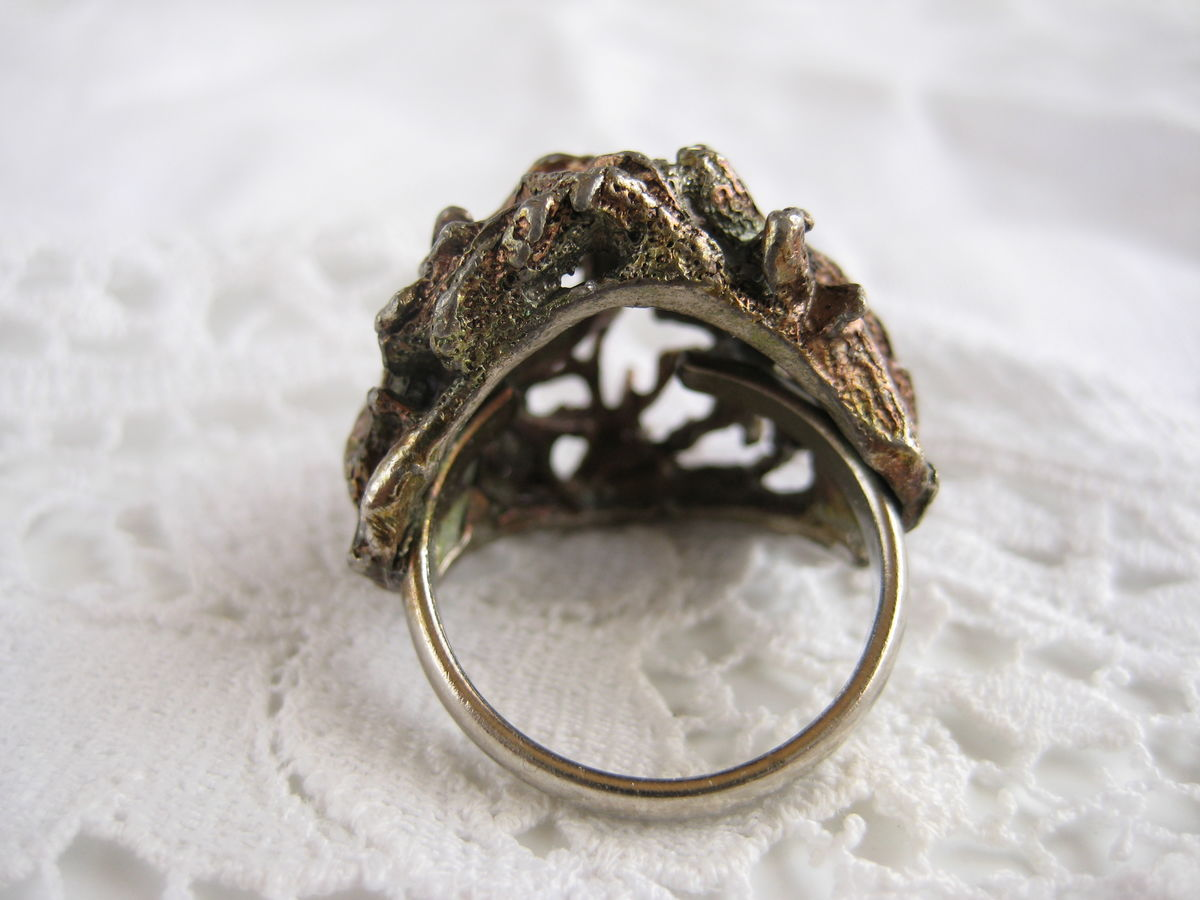 Brutalist Dome Ring US size 5 - product images  of