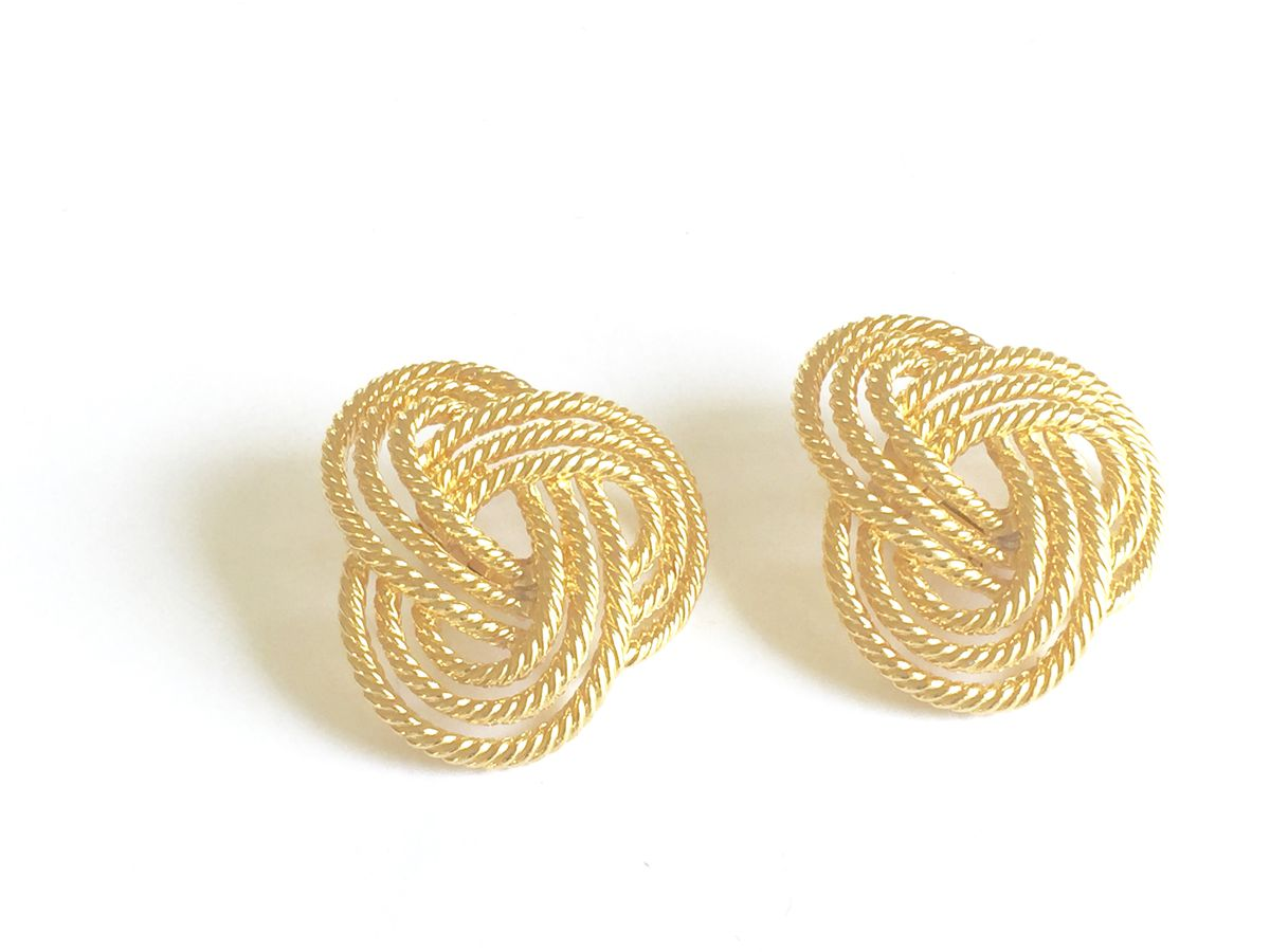 Vintage Love Knot Earrings   - product image