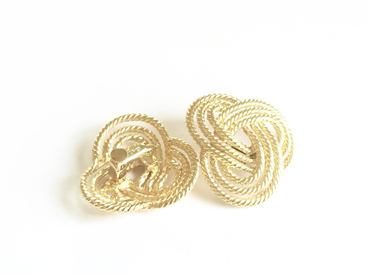 Vintage Love Knot Earrings   - product images  of