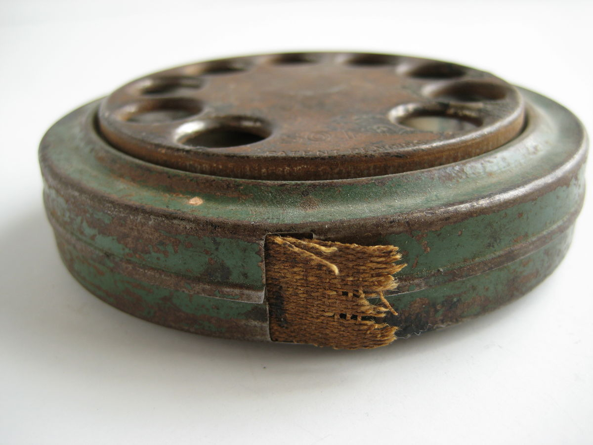 Antique Dial Tape Measure - product images  of