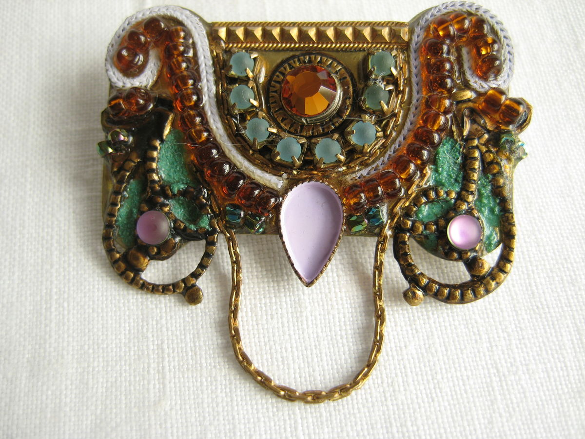 Adaya Brooch from Israel - product image