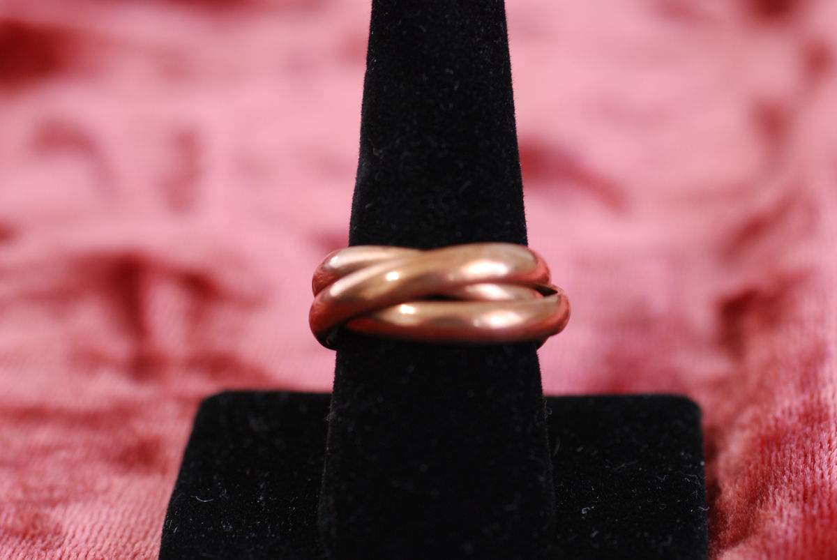 Copper Triple Rolling Ring - product image