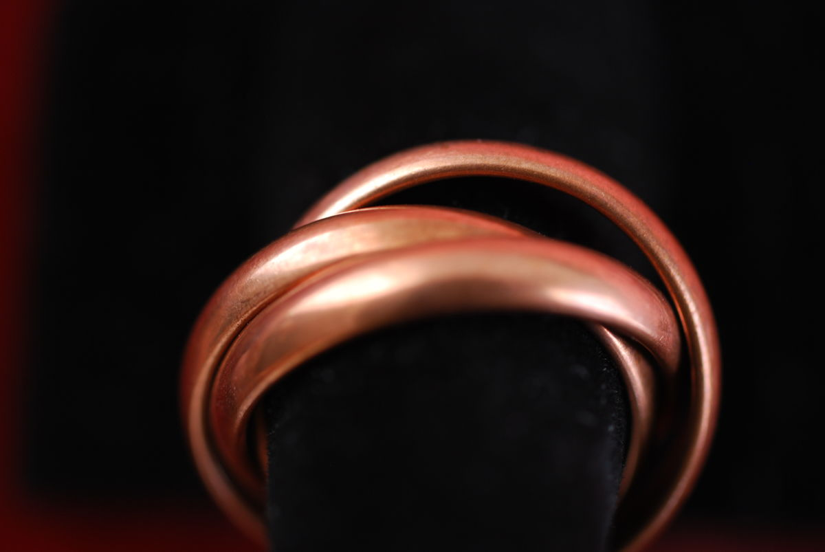 Copper Triple Rolling Ring - product images  of