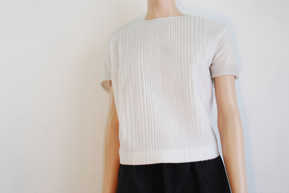 Vintage 1950's Sheer Nylon Blouse Penny Potter Original - product images  of