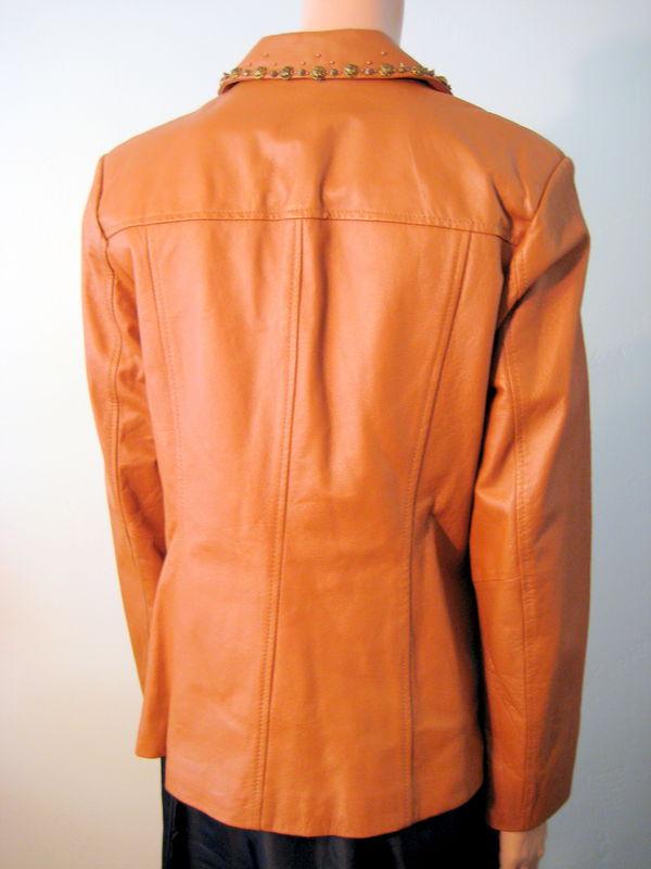 Pamela McCoy Leather Jacket - Vintage Renude