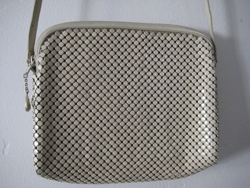 Vintage Whiting and Davis Purse - product images  of