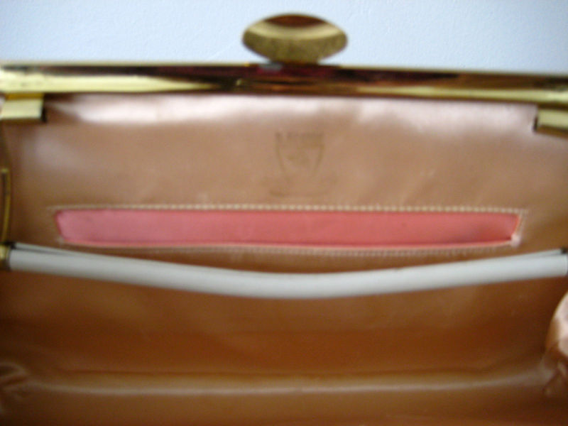 1960's Leather Clutch Purse by Leon of California - product images  of