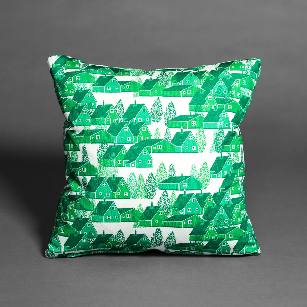 Greenland Green Cushion - product images  of