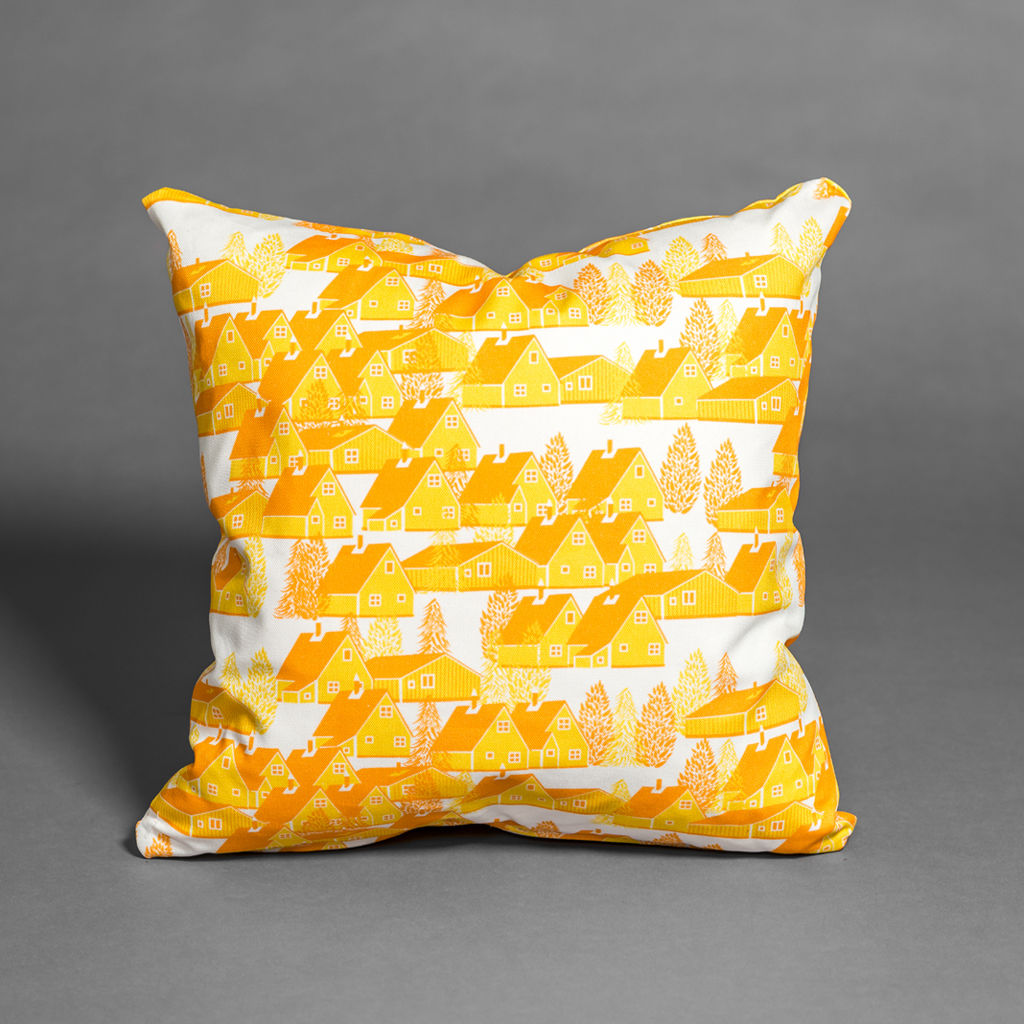 Greenland Yellow Cushion - product images  of