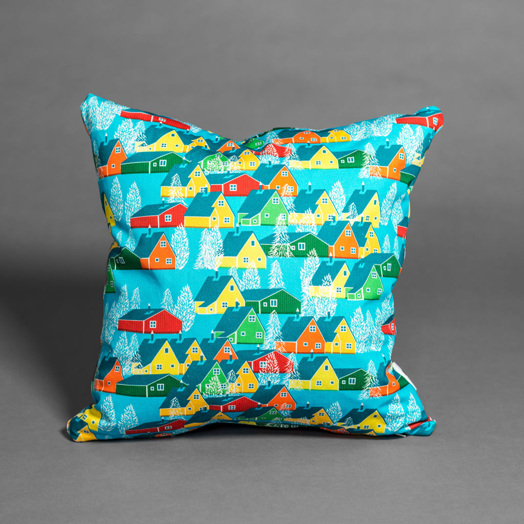 Greenland Multicolour Cushion - product images  of
