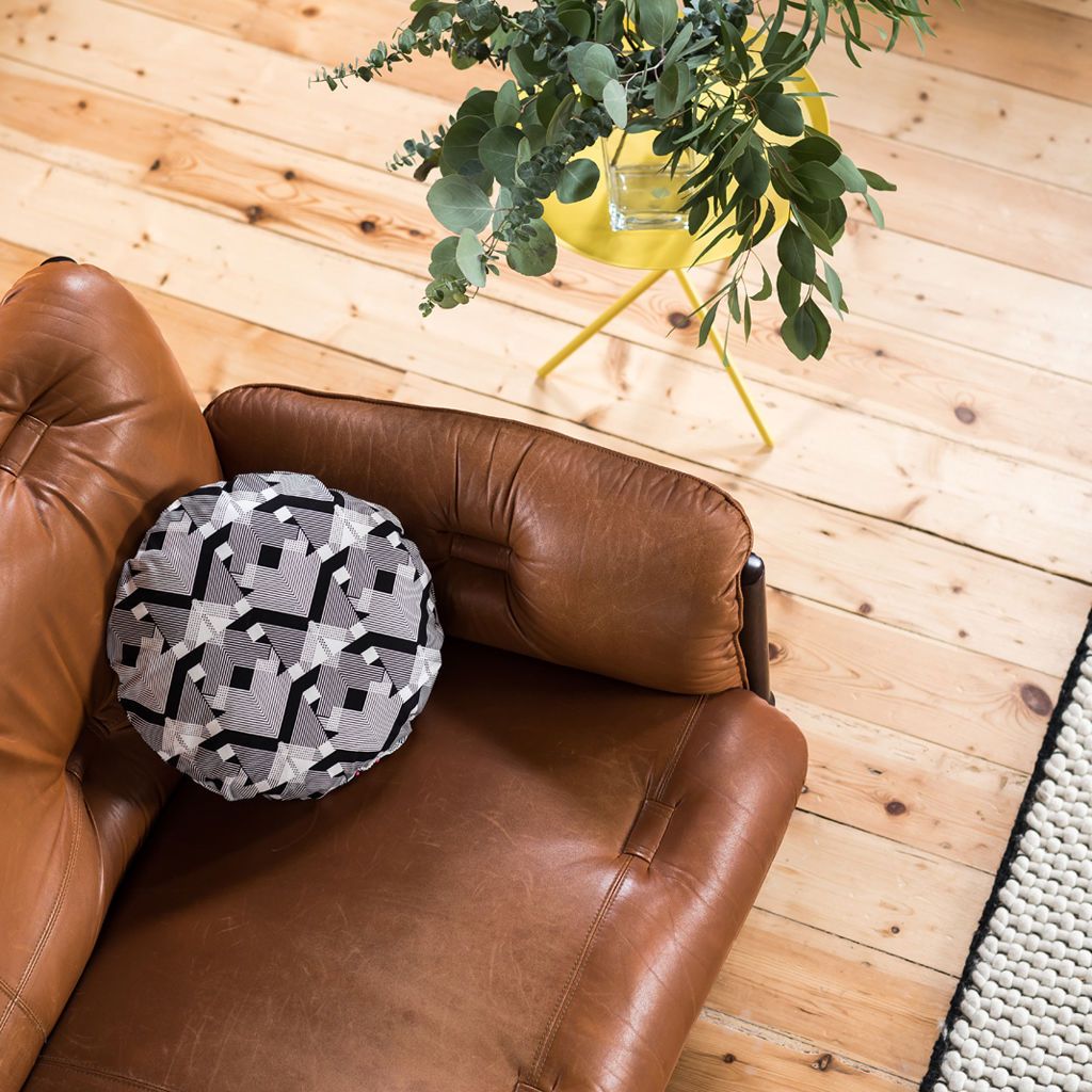 Geo Graphica Round Cushion - product images  of