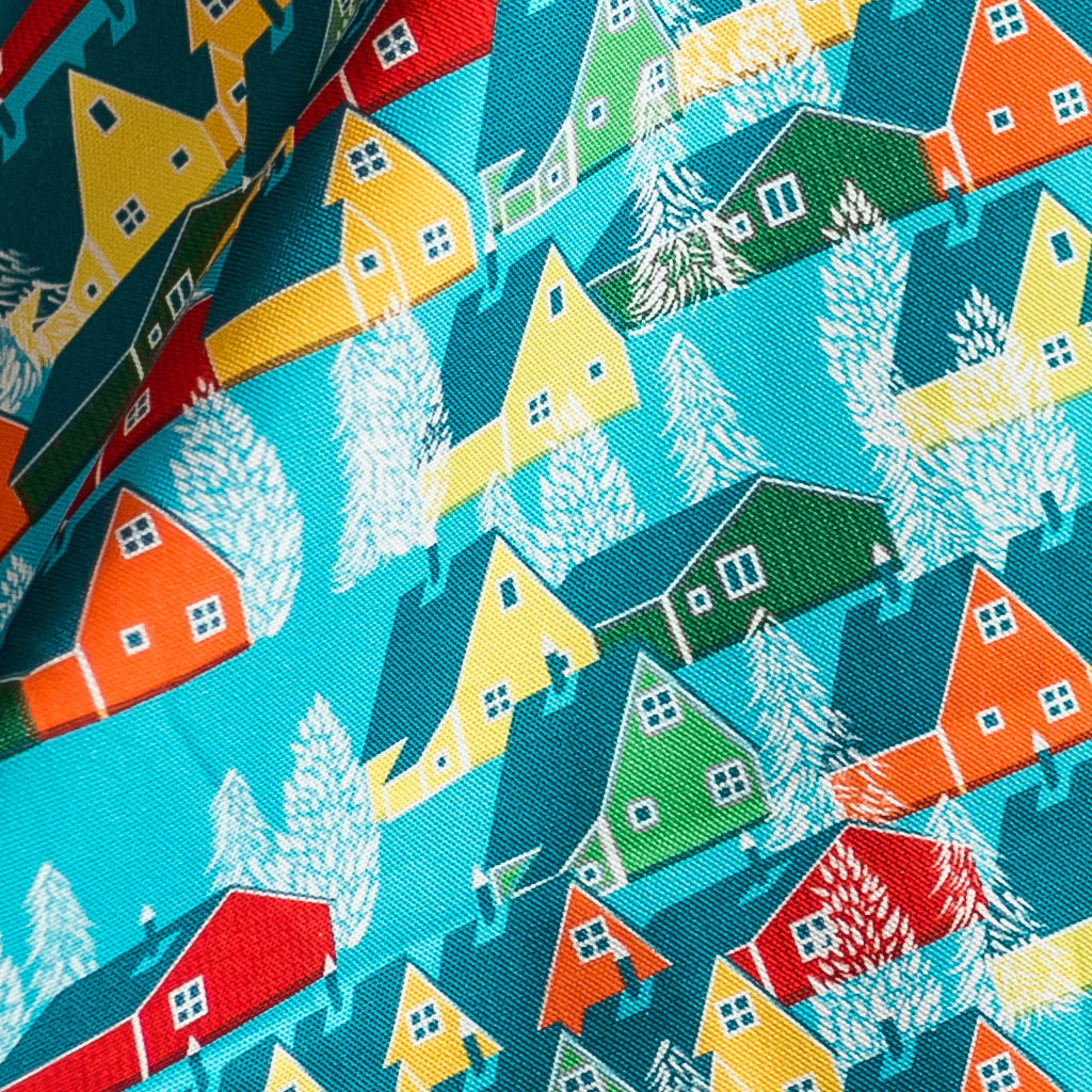 Greenland Multicolour Fabric - product images  of