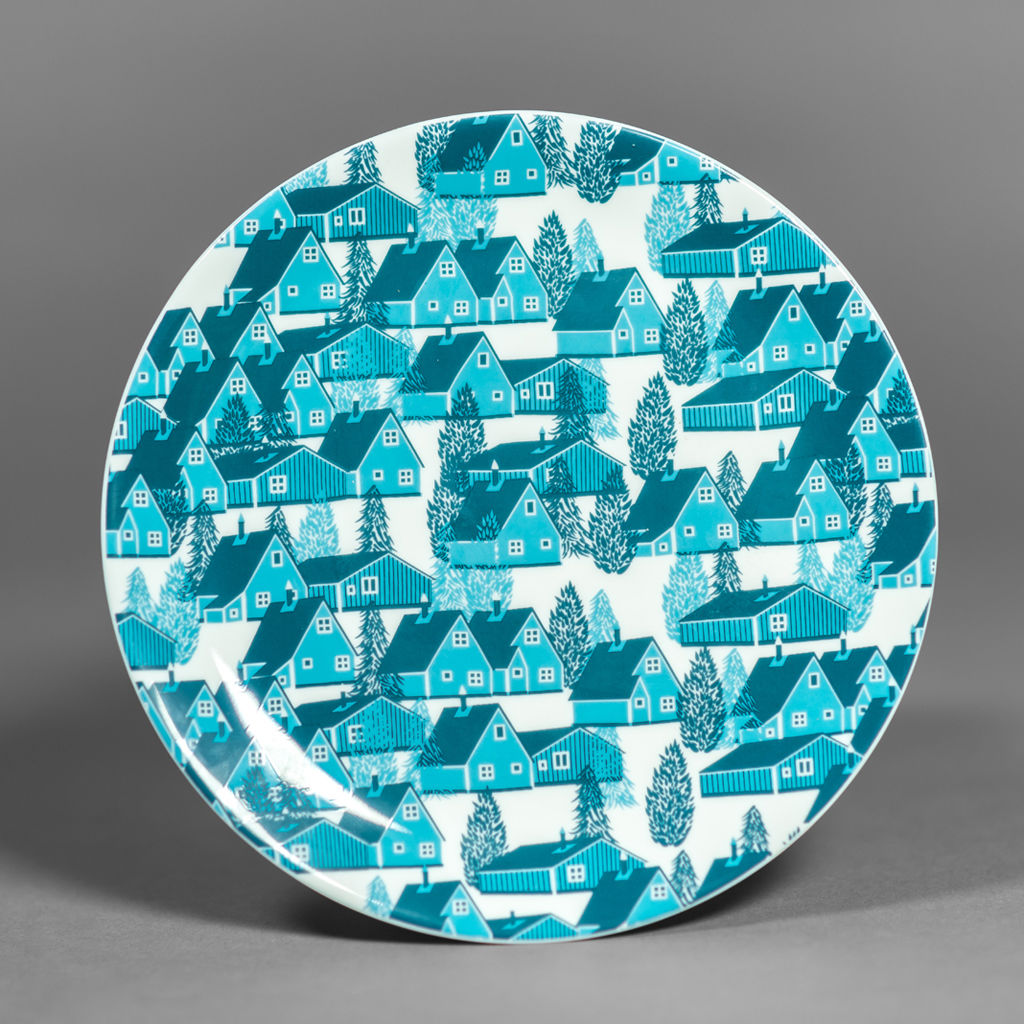 Greenland British Fine Bone China Plate - product images  of