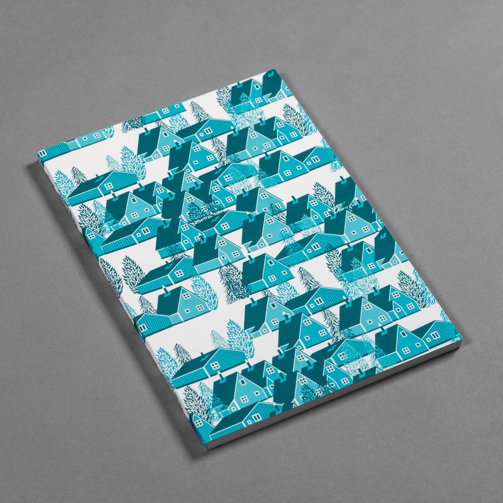 Greenland Blue Notebook - product images  of