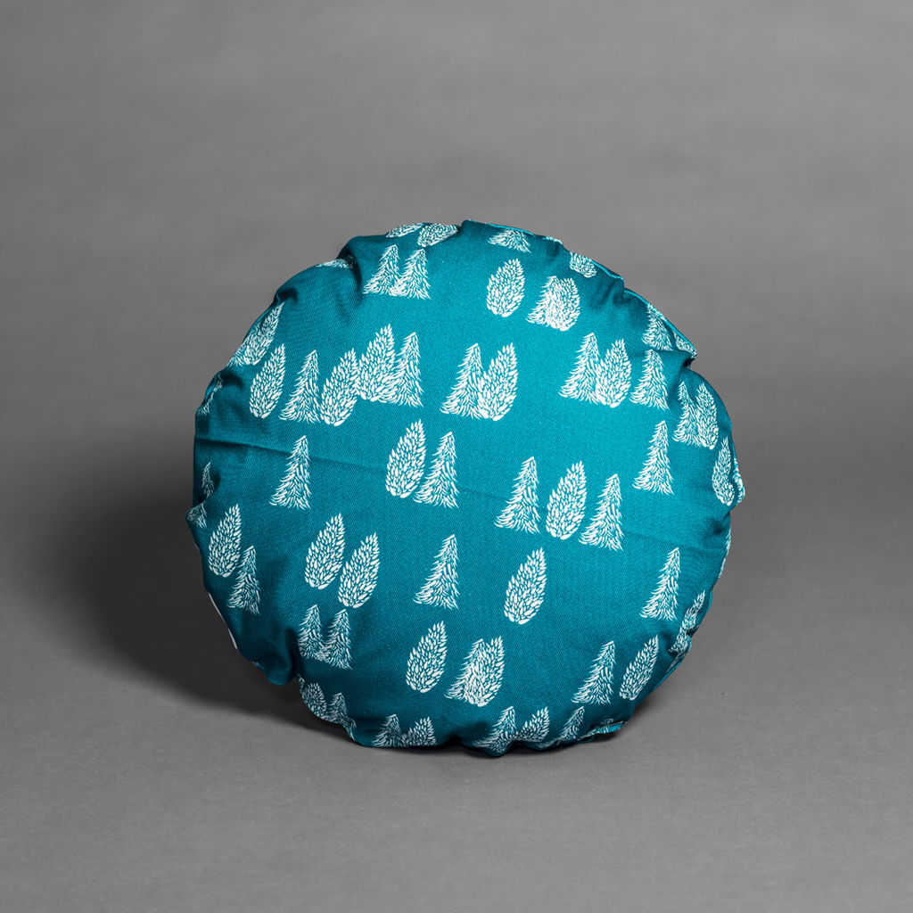 Greenland Trees Round Cushion - product images  of