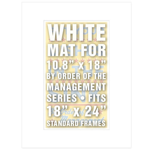 18,in,x,24,Mat,(White),for,10.8,By,Order,of,the,Management,Prints,Supplies,Matte,Johnwgolden,mat board