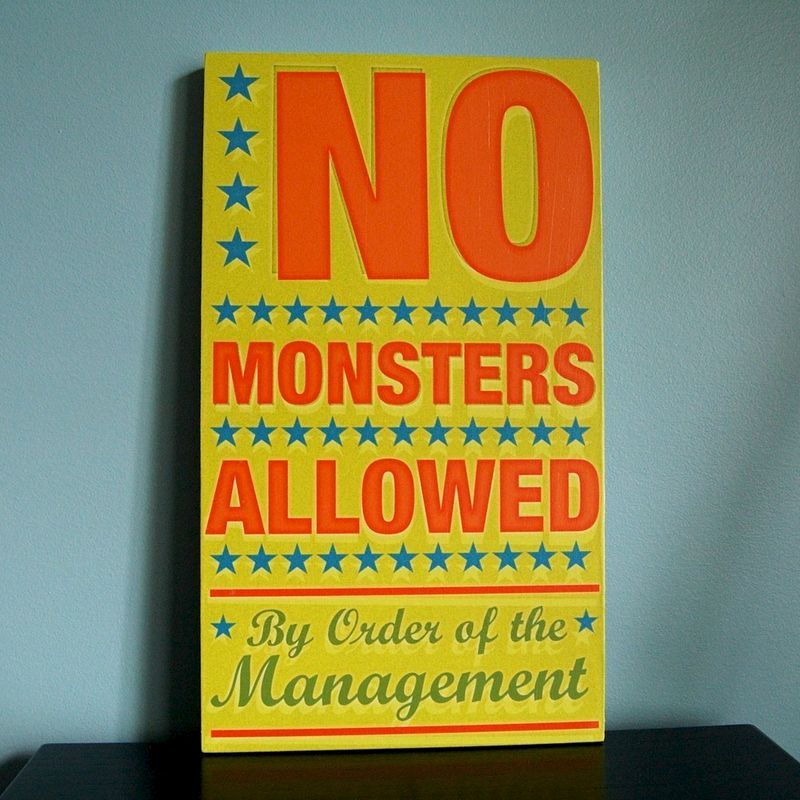 Kids Wall Art- By Order of the Management Block- Baby Boy Nursery ...