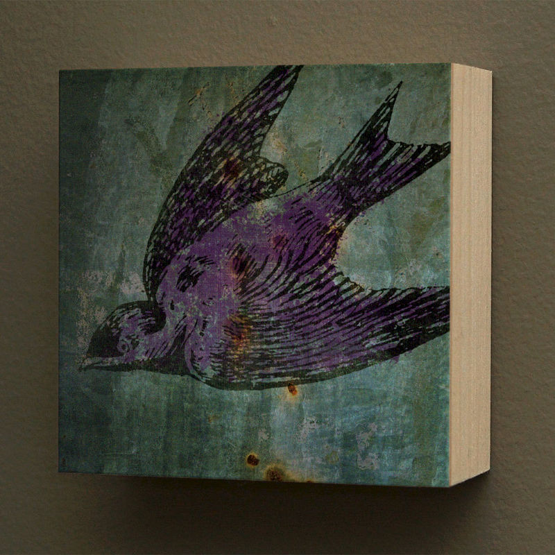 Art On Wood Box Wall Decor Pick The Print 4 X Gift For Mom Dad Gifts Under 20 John W Golden