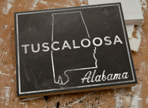 Tuscaloosa,Art,Box-,College,Town,Print-,11,x,14,Custom,State,University,of,Alabama,Graduation,Gift,Housewares,Wall_Decor,Sign,Chalkboard_Art,United_States_Cities,Dorm_Room_Art,Custom_State_Print,State_Map_Art,Graduation_Gift,College_Town_Print,University_Alabama,Tuscaloosa_Alabama,College_Graduation,Going_Away_Gifts,Tuscaloosa_Art,wood,paper,ink,glue,s