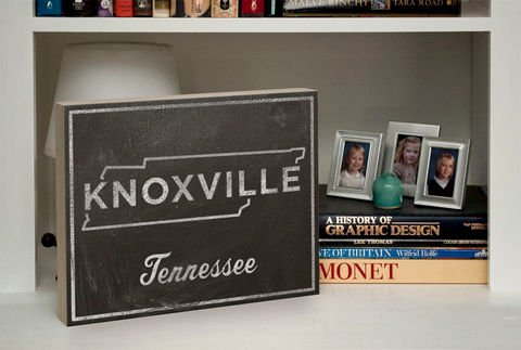 Knoxville,Art-,City,State,Art,Box-,College,Town,Print-,11,x,14,Ready,to,Hang,Custom,University,of,Tennessee,Graduation,Gift,Housewares,Wall_Decor,Sign,Chalkboard_Art,Vintage_Look_Art,Honeymoon_Gift,United_States_Cities,Dorm_Room_Art,Custom_State_Print,State_Map_Art,Graduation_Gift,College_Town_Print,University_Tennessee,Ready_To_Hang_Art,wood,paper,ink,glue,sealer