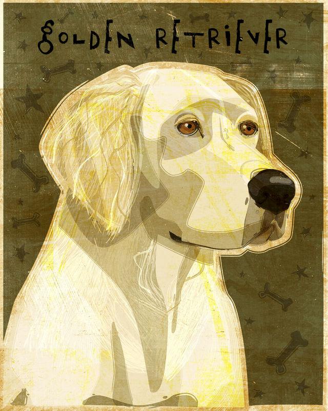 Golden Retriever Print No. 2- 8\