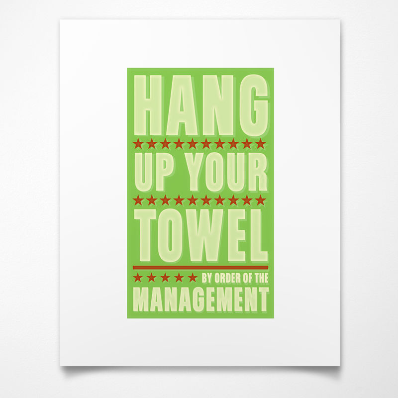 By Order of the Management Art Print- Pick Your Print and Size - product images  of