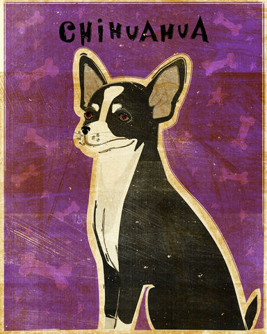 Chihuahua,Print,-,Various,Colors,Art,Illustration,digital,whimsical,cute,dog,animals,animal,chihuahua,paper,ink