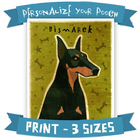 Doberman,Print,-,Personalize,Your,Pooch,Dog,Art,with,your,Dog's,Name,Various,Sizes,Pets,Pet_Lover,Portrait,dog,art,illustration,reproduction,canine,breed,fido,pooch,pup,puppy,dog_print,dog_art,southern_living,paper,ink