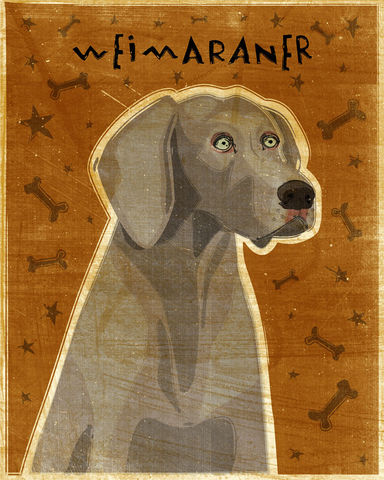 Weimaraner,Print,-,Pick,Your,Pooch,Dog,Art,Various,Sizes,Pets,Pet_Lover,Portrait,dog,art,illustration,reproduction,canine,breed,fido,pooch,pup,puppy,dog_print,dog_art,southern_living,paper,ink,personalizedweimaraner
