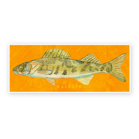 Freshwater,Fish,Art,-,Walleye,Print,6.6,in,x,18,Decor,Fathers,Day,Gift,for,Dad,Kids,Fishing,Digital,Fish_Decor,Coastal_Art,Freshwater_Fish_Art,Fish_Print,Fathers_Day_Gift,Gift_For_Dad,Kids_Fish_Art,Walleye_Art_Print,Dad_Gift,Paper,Ink