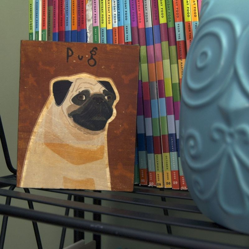 Dog Series Art Block - Pick the Print - 4 in x 5 in - product images  of