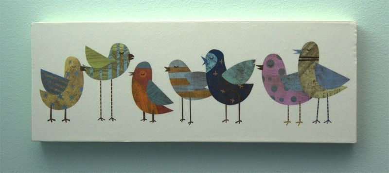 Flock No. 1 Art Block - 4 in x 11 in - product images  of