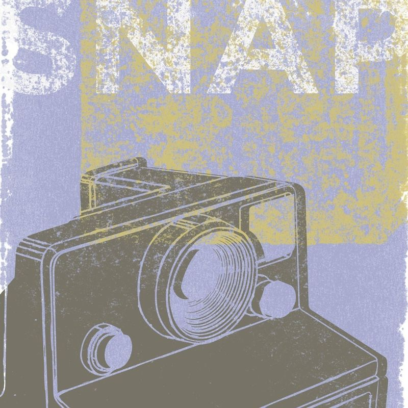 Snap Print - fits 8 in x 10 in - product images  of