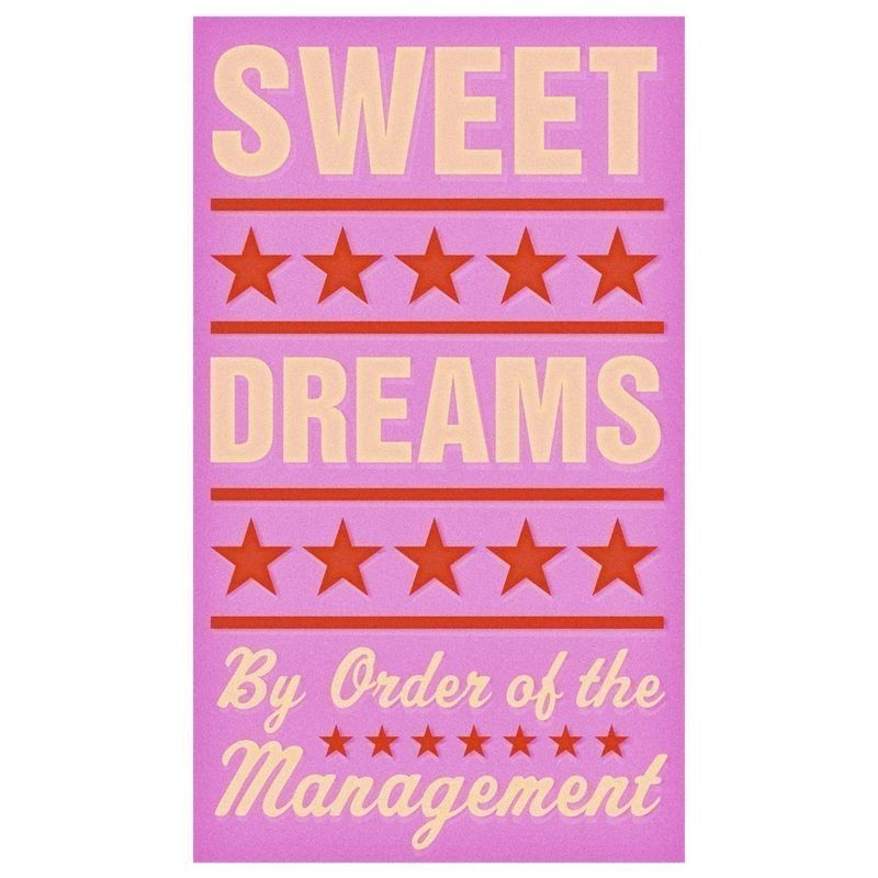 Sweet Dreams (Pink) Print 6 in x 10 in - product images