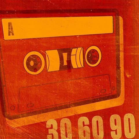 30,60,90,Print,8,in,x,art,illustration,print,digital,pop,cassette,music,rock_n_roll,fathers_day_gift,computer,paper