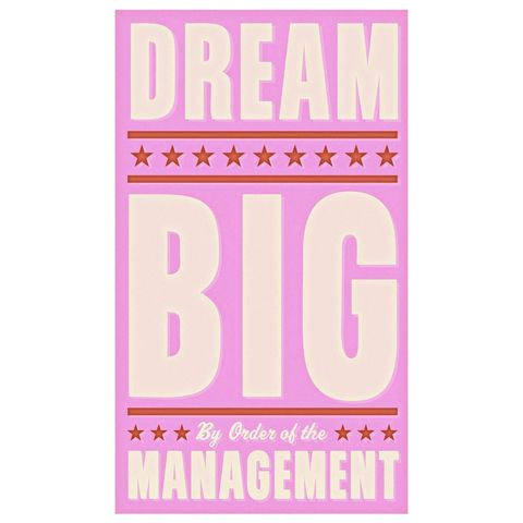 Dream,Big,in,Pink,Print,6,x,10,Children,Art,art,illustration,print,digital,john_w_golden,dream,big,pink,paper,computer
