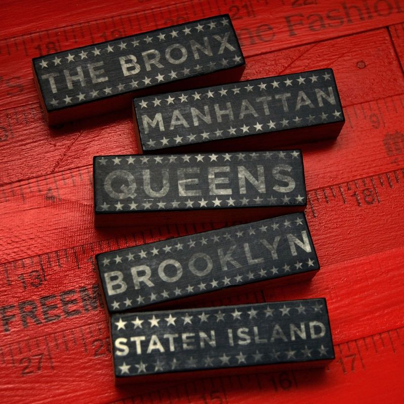 City Blocks - Five Boroughs Neutral Edition Art Block Set - product images  of