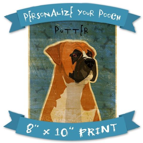 Personalize,Your,Pooch,-,Dog,Art,Print,8,in,x,10,Pets,Portrait,art,illustration,digital,reproduction,canine,breed,fido,pooch,pup,puppy,personalize,paper,ink