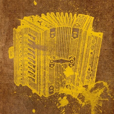 Accordion,Collage,Print,8,in,x,Art,Illustration,painting,mixed_media,altered,vintage,johnwgolden,accordian,dictionary,paper,camera