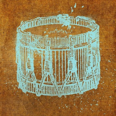 Snare,Drum,8,in,x,Print,Art,Illustration,painting,mixed_media,altered,vintage,johnwgolden,snare,drum,paper,camera